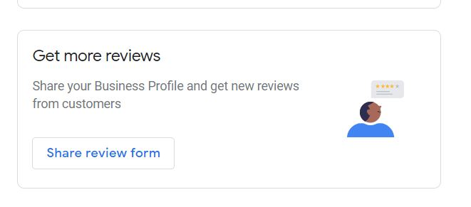 how to get a Google review