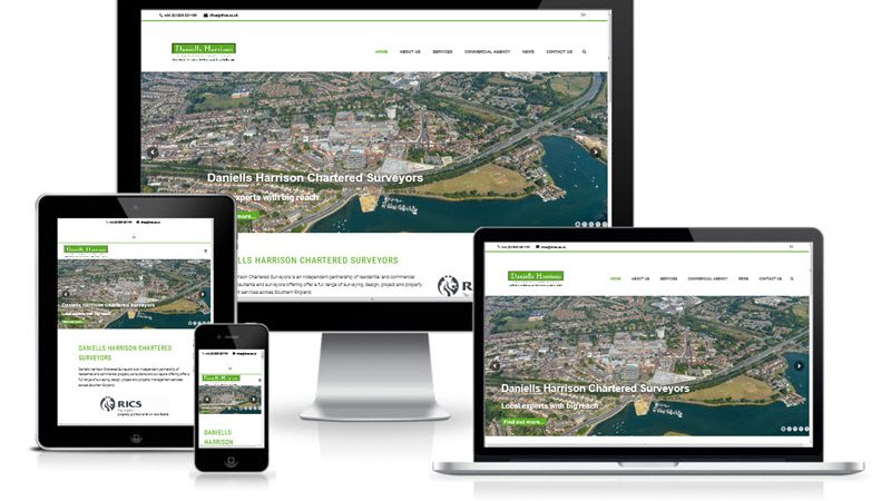 daniells-harrison-chartered-surveyors-new-website