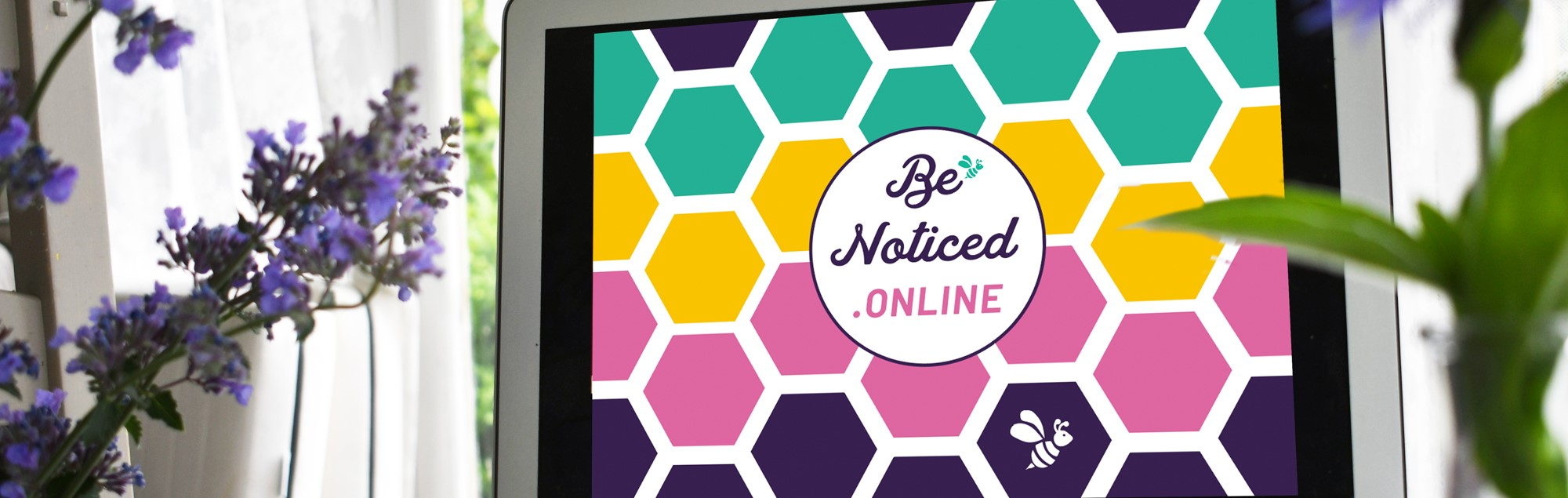 be noticed online banner