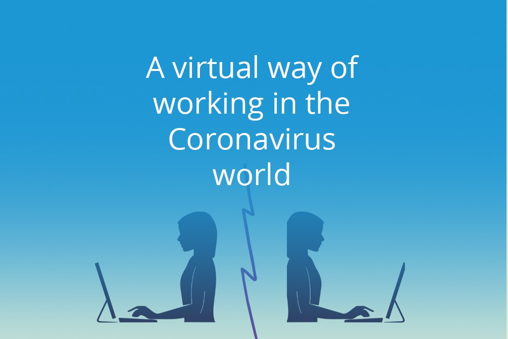 virtual working coronavirus