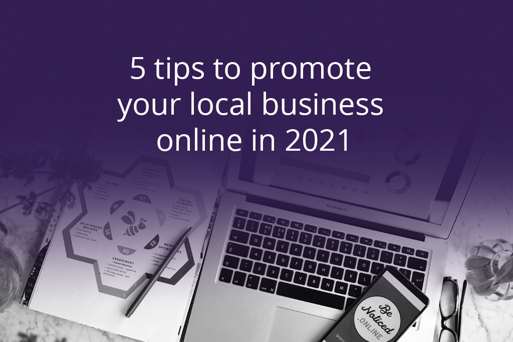 5 tips to promote local business online 2021